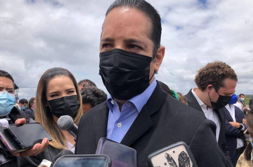 Francisco Domínguez todavía analiza qué rumbo tomará su carrera política
