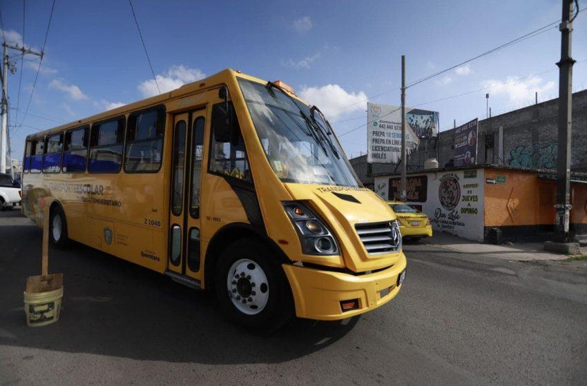 "Continúa municipio con programa ""Acercándote"" de transporte público gratuito"