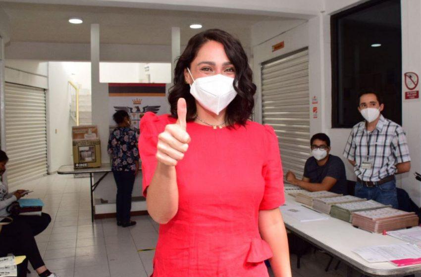 Abigail Arredondo confía en que el proceso electoral se lleve a cabo con tranquilidad
