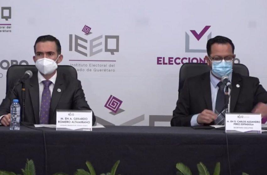 Arranca IEEQ jornada electoral de manera oficial