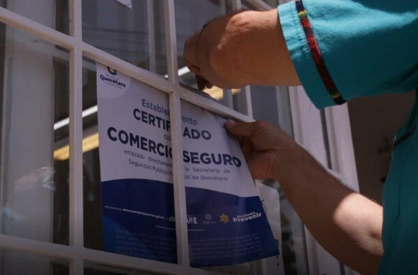 """Municipio de Querétaro lanza programa """"Comercio Seguro"""""""