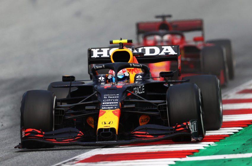 Checo Pérez queda en sexto lugar en el GP de Austria, protagoniza altercado