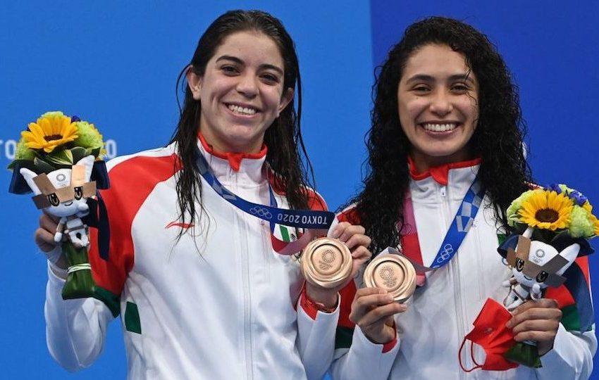 Hoy sí hubo medalla para México; clavadistas se llevan bronce en Tokio