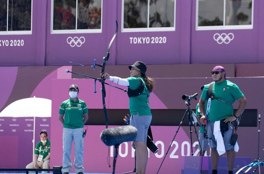 Cae primera medalla para México en Tokio; se trata de un bronce en tiro con arco