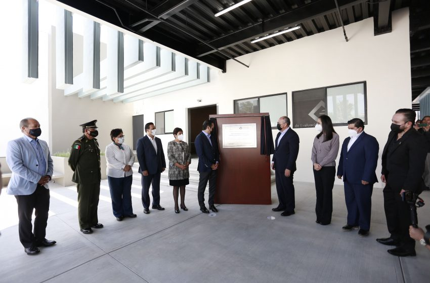 Inauguran nueva sede del Centro de Evaluación y Control de Confianza del Estado