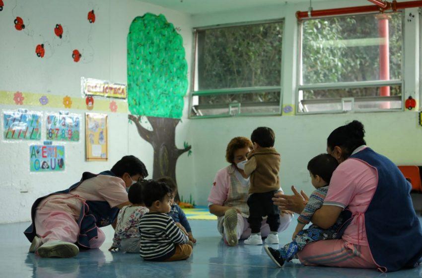 Estancias infantiles del ISSSTE inician reincorporación presencial