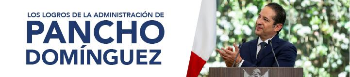 Los logros de la administración de Pancho Domínguez