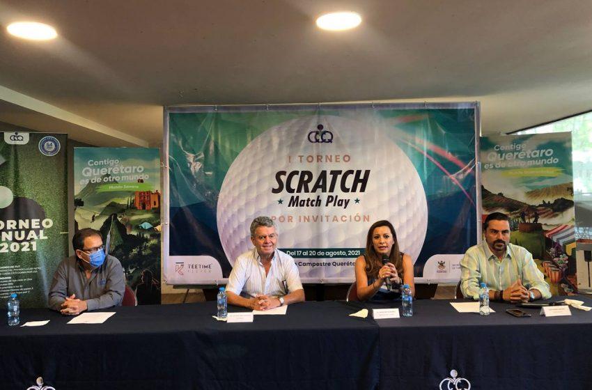 "Anuncia Club Campestre primer Torneo de golf ""Scratch Match Play"""