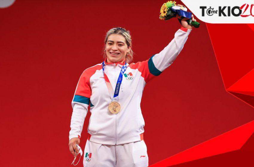 México suma su tercer medalla de bronce en los hombros de Aremi Fuentes