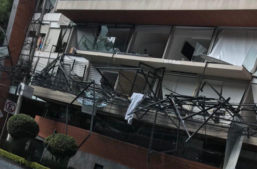 Explota edificio habitacional en la Ciudad de México