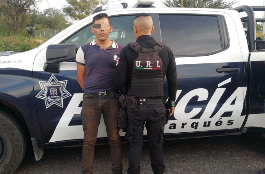 Caen ladrones de autos en El Marqués