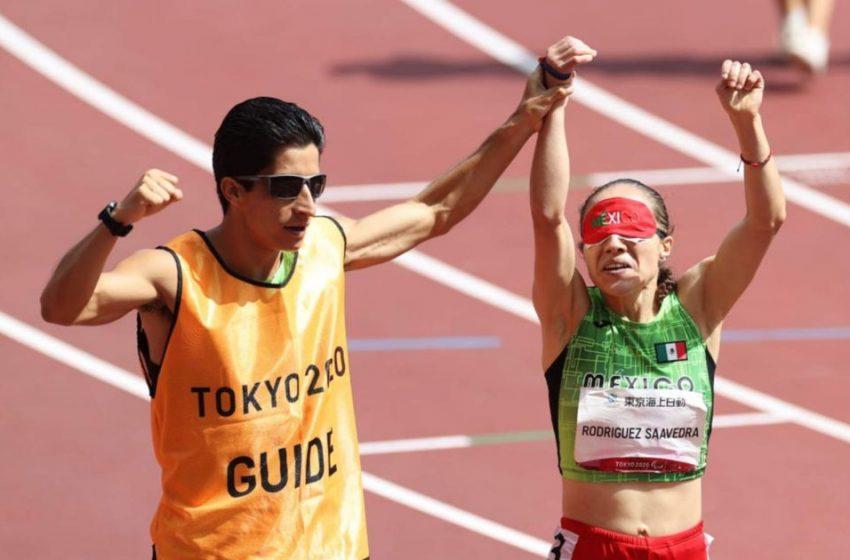 Mexicana consigue otro oro en paralímpicos de Tokio; además impone récord