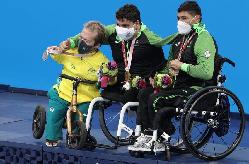 Consigue México 2 oros más y 2 bronces en paralímpicos de Tokio