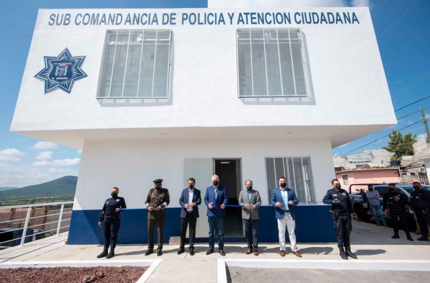 Disminuyen 39% delitos del fuero común en El Marqués, afirma secretario de seguridad municipal