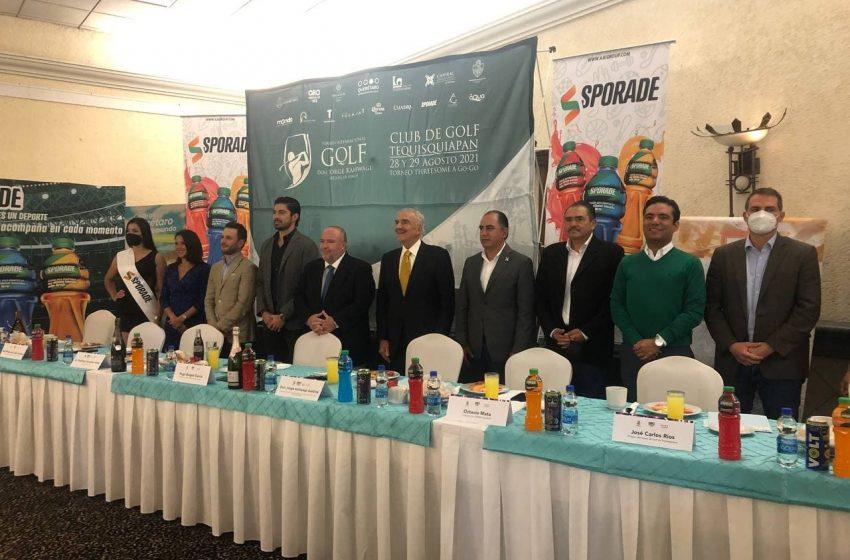 Preparan torneo internacional de golf en honor a Jorge Kahwagi