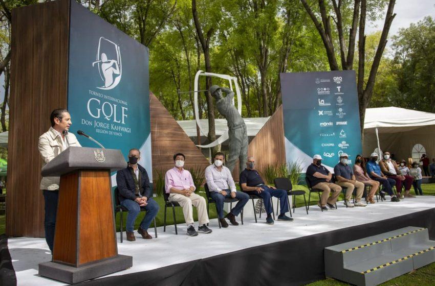 "Encabeza FDS premiación del Torneo Internacional de Golf ""Don Jorge Kahwagi"""