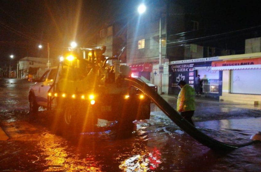 60 comercios sufrieron pérdidas del 25% por lluvias: Canaco