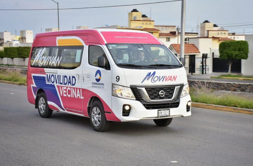 Programa MOVIVAN cumple dos años dando servicio a mujeres en Corregidora