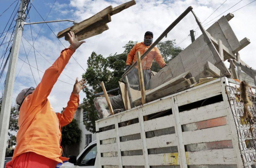 Corregidora recolecta 220 toneladas de tiliches y 60 mil llantas en lo que va de la administración
