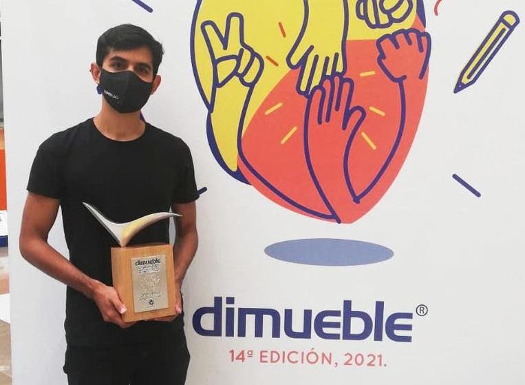 """Gana diseñador de la UAQ 2º lugar en concurso nacional """"Dimueble 2021"""""""