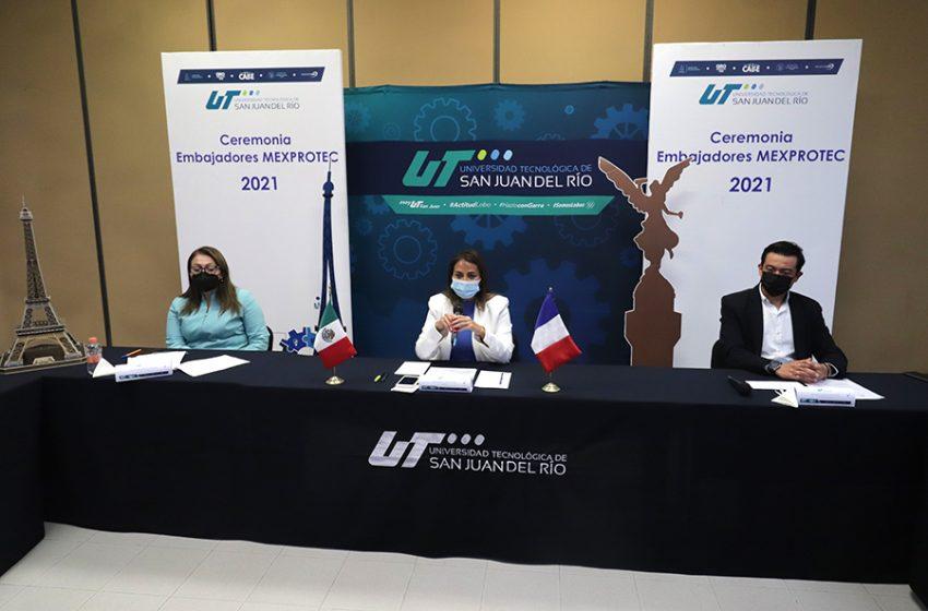 Estudiantes de la UTSJR obtienen beca para estudiar en Francia