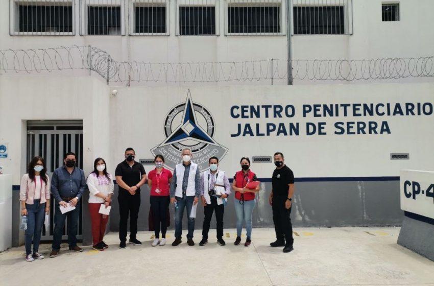 CNDH supervisa los centros penitenciarios de Querétaro