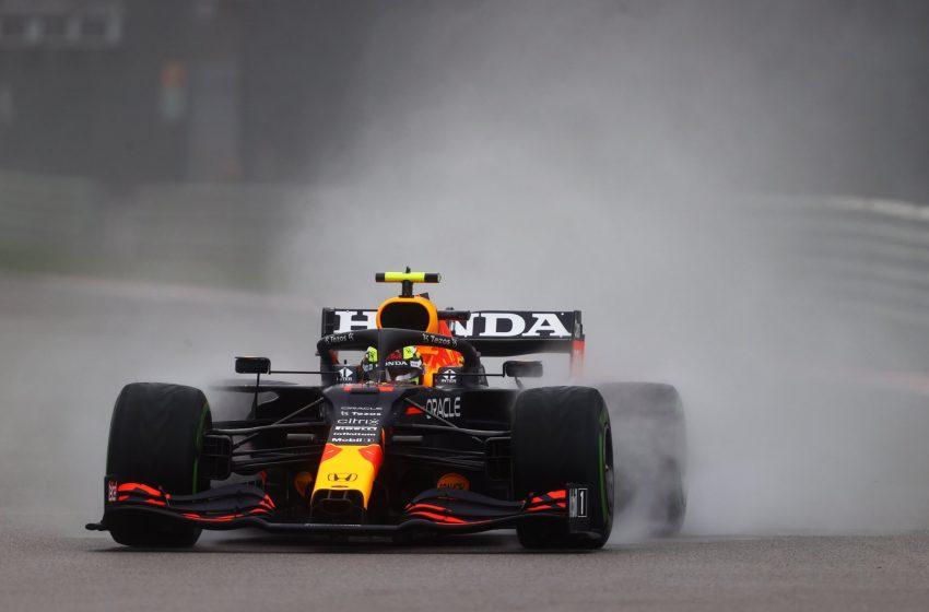 """""""Checo"""" Pérez terminó noveno en el Gran Premio de Rusia"""