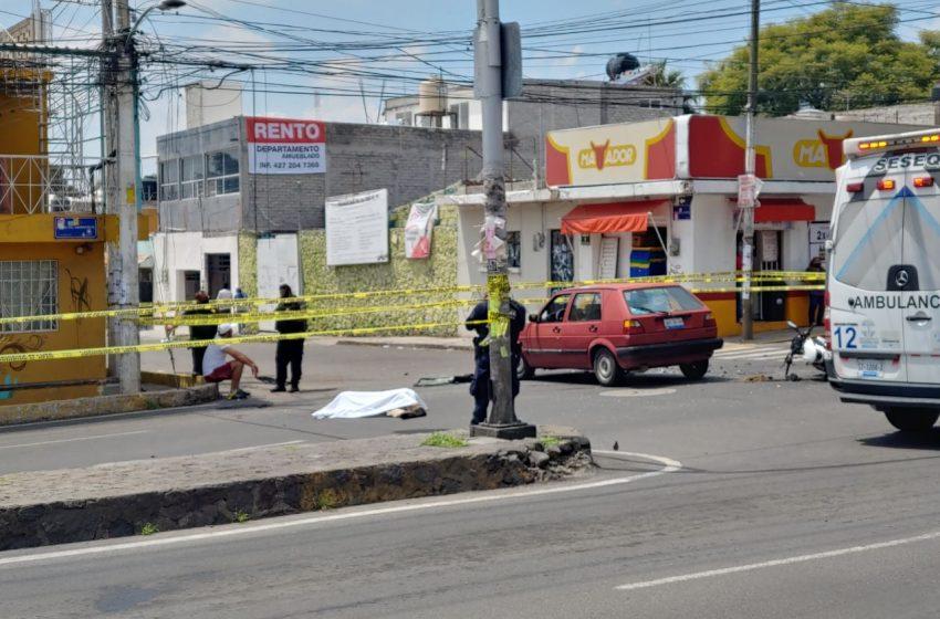 Muere joven motociclista tras chocar sobre Sombrerete
