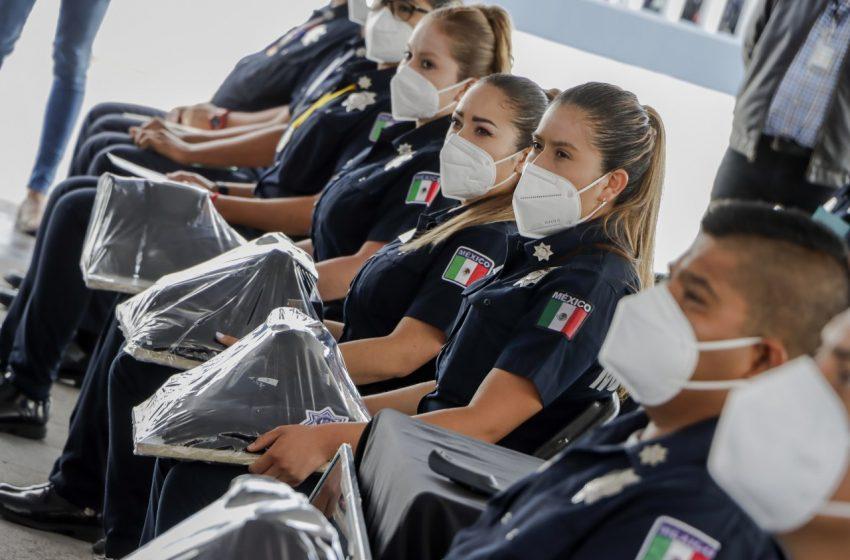 Corregidora invierte 3.5 mdp en equipamiento para policías