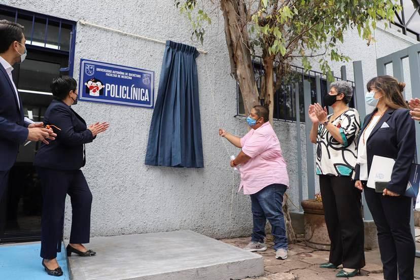 UAQ inaugura Unidad Policlínica de Atención Primaria de la Facultad de Medicina