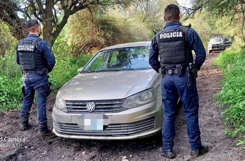 Roba vehículo en El Marqués y lo detienen