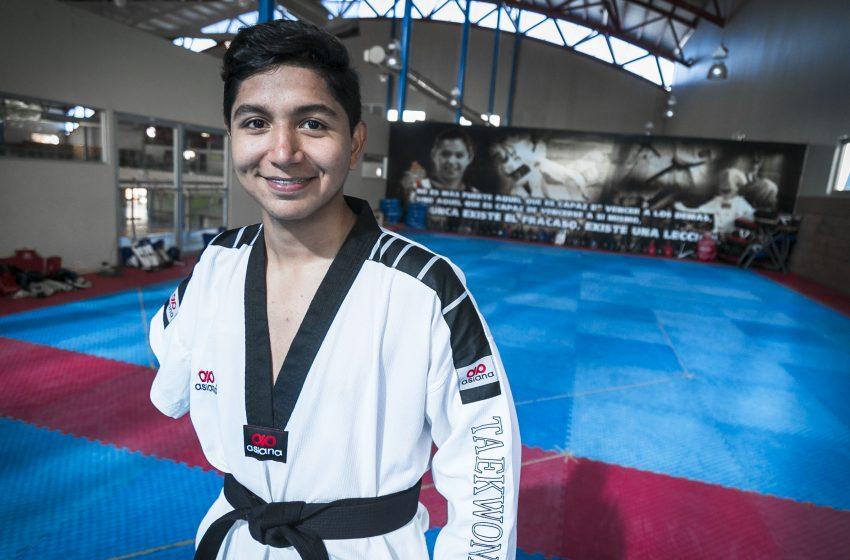 Consigue México medalla de oro en competencia paralímpica de taekwondo