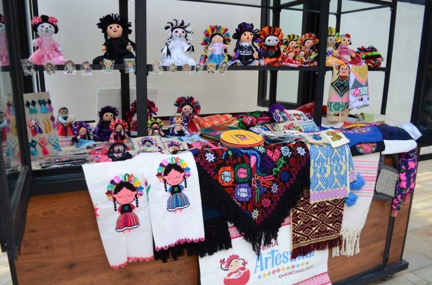 Prepara municipio de Querétaro décima Feria Artesanal