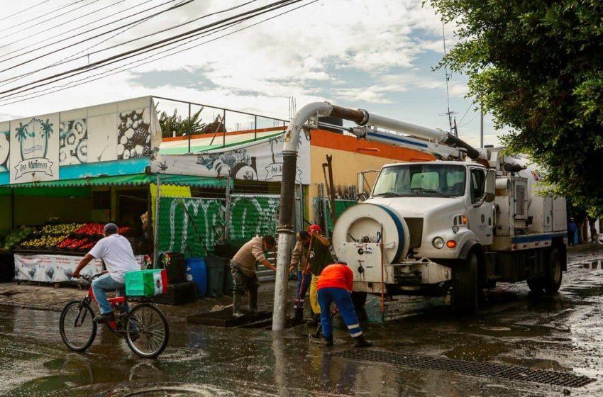 Más de 73 toneladas de residuos dejaron lluvias del martes en Querétaro