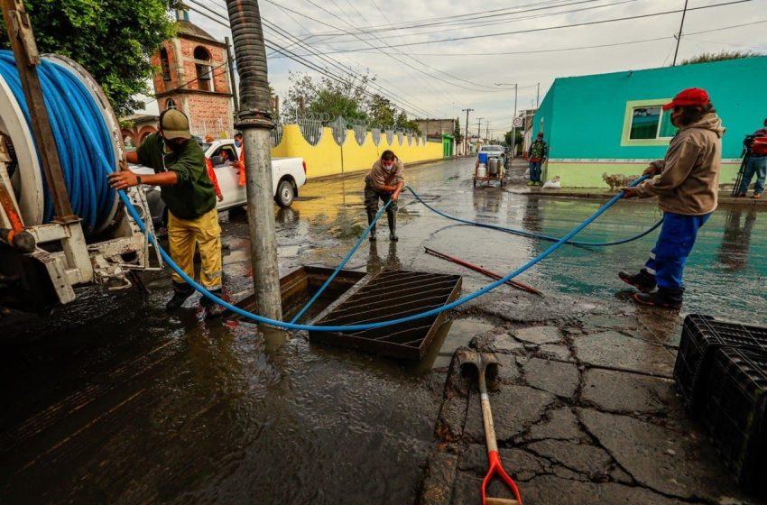 Lluvias del martes 9 afectaron 104 domicilios en la capital