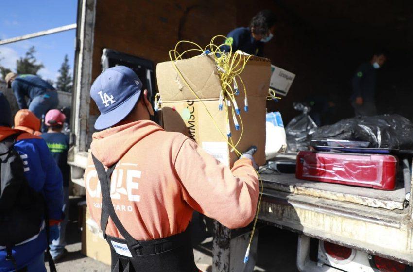 Municipio de Querétaro acumuló más de 56 toneladas de residuos tras mega jornada de recolección