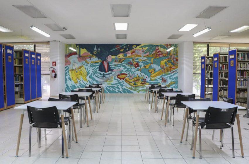 Terminan de remodelar biblioteca central de la UAQ