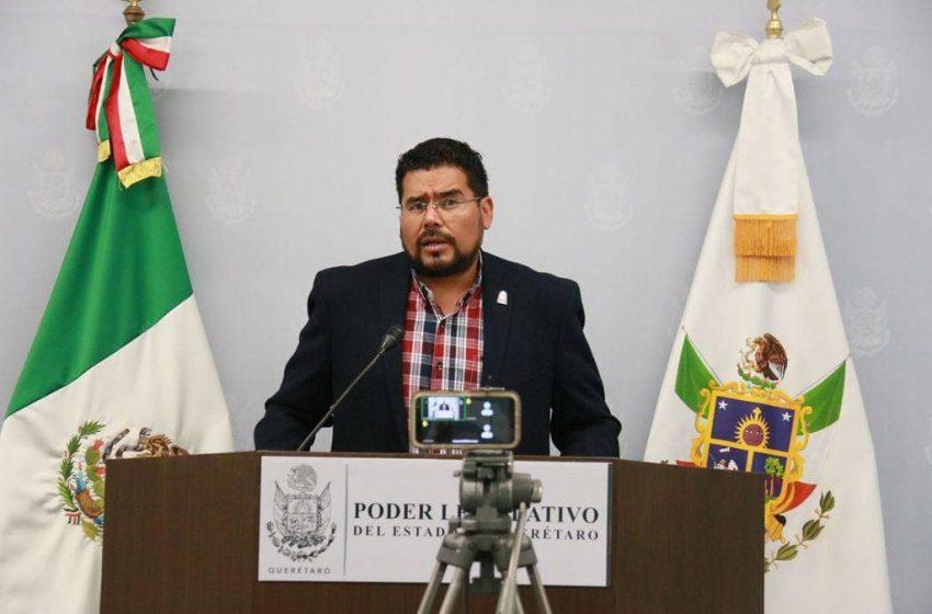 Diputado Néstor Domínguez denuncia que 70% de sus iniciativas se congelaron