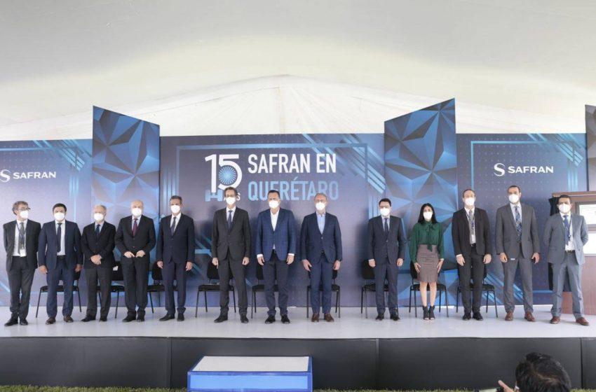 """""""Pedimos que vean a Querétaro como el futuro de los proyectos de Safran"""": Kuri"""