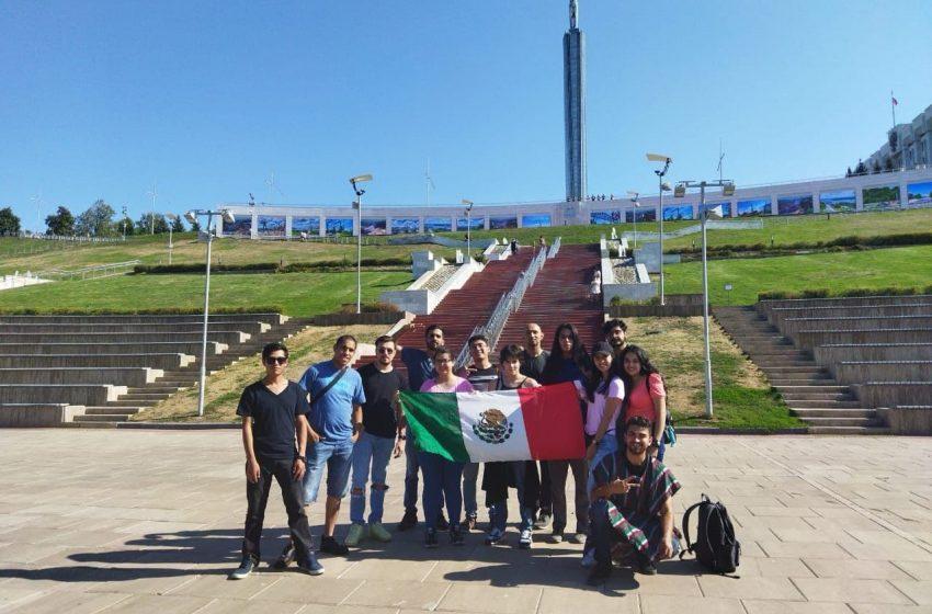Regresan de Rusia estudiantes de la Politécnica de Santa Rosa
