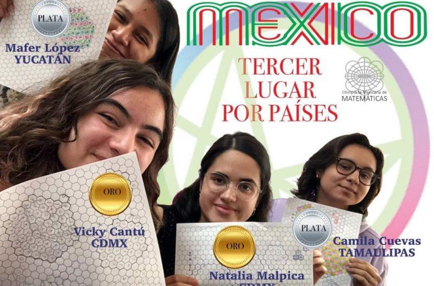 Obtienen mexicanas 3er lugar en olimpiada panamericana de matemáticas